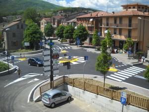 Realizzazione rotatoria a Villa Minozzo, Provincia di Reggio Emilia