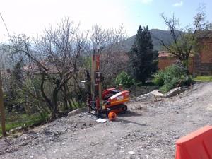 Realizzazione prova penetrometrica DPSH Comune di Baiso, Reggio Emilia