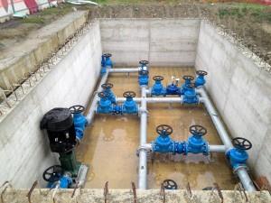 Realizzazione camera di manovra interrata per acquedotto, Marano Sul Panaro, Modena. Cliente: HERA.