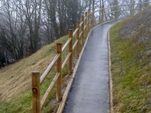 Realizzazione vialetto pedonale di accesso presso Park Pieve. Cliente: Comune di Castelnovo ne' Monti, Reggio Emilia